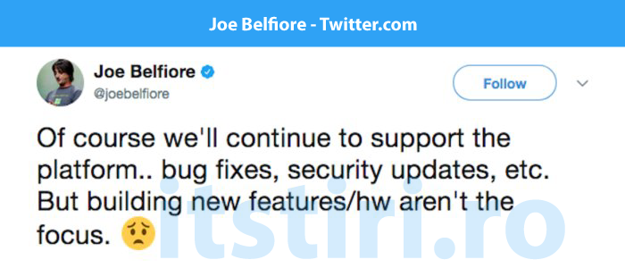 Joe Belfiore twitter Windows Phone
